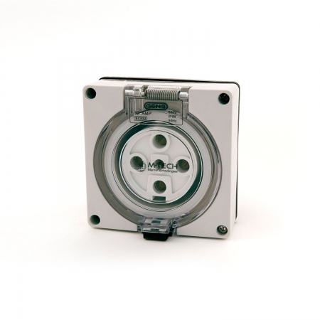 32A M-Tech Three Phase Socket Outlet