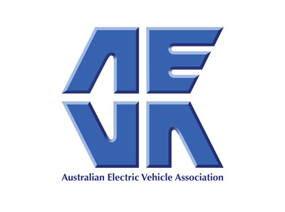 Australian electric Vehicle Association Logo